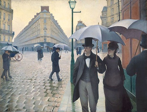 Jour de pluie à Paris - Gustave Caillebotte