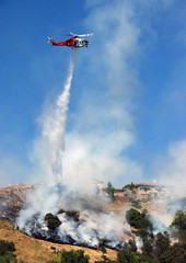 Firefighters Quickly Halt Brush Fire in Tujunga