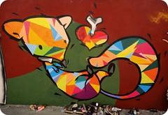 My and Colors Connect. (Corexplosion) Tags: art brasil illustration painting cores graffiti paint fox salvador drawn cor core colorido coreomc corexplosion