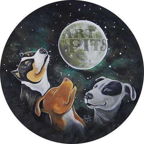 3 PitBull Moon
