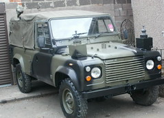 Land Rover 110 Army