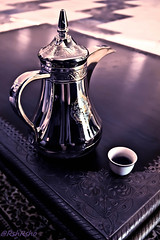 Arabic Coffee (Rshrsho) Tags: coffee hotel dubai drink uae arabic lobby arab sofitel  arabiccoffee