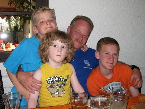 Grandpa w/ Sam, Jake, Z