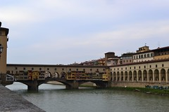 DSC_0141 (2) (pjpink) Tags: italy reflection water river florence spring tuscany firenze arno pontevecchio 2011 pjpink