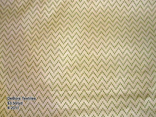 DeBois Textiles, 4-2011