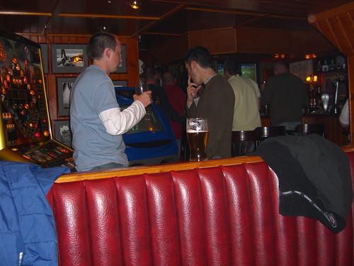 Erik and Jacob in a Scottish Pub