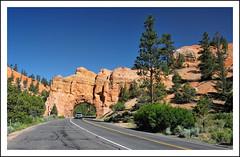 Bryce Canyon Archway (Paul Heskes) Tags: travel tourism utah desert roadtrip erosion roadtripusa redrock brycecanyon desolate sigma1224mm desolation hoodoos fairychimney fairylandcanyon tentrock ponderosapine brycenationalpark deserthighway earthpyramid nikond700