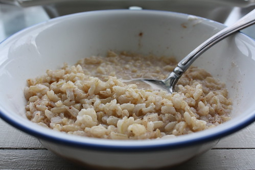 Easy Rice Breakfast Cereal