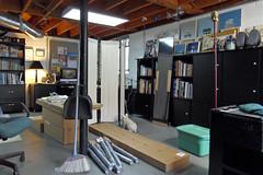 My Studio: May 2, 2011 / Big Delivery from IKEA (steveartist) Tags: artwork paintings workinprogress artists tables bookcases artinprogress artstudios artartstudiosstevefrenkelflatfilesartfurnitureikea