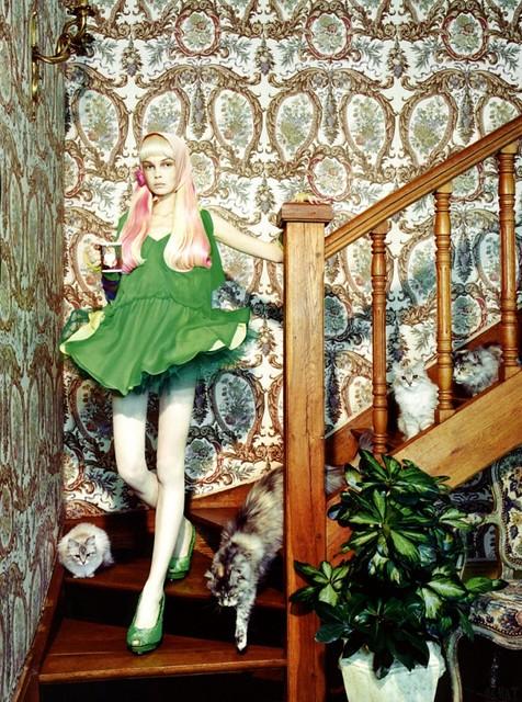 Miles Aldridge Vogue Italia 2