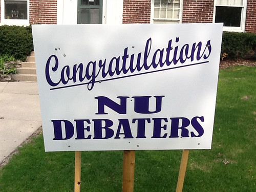 Congratulations NU Debaters