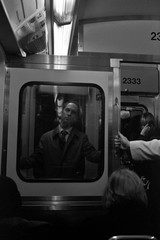 (Brian Hagy) Tags: leica chicago film train subway cta trix streetphotography 35 summilux m4p