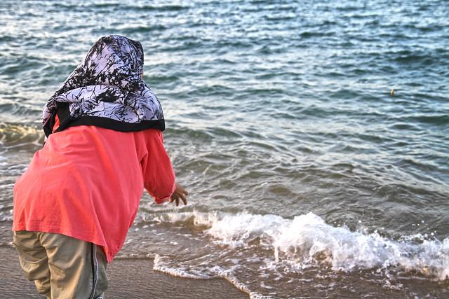Tarik Pukat Pantai Seberang Tak