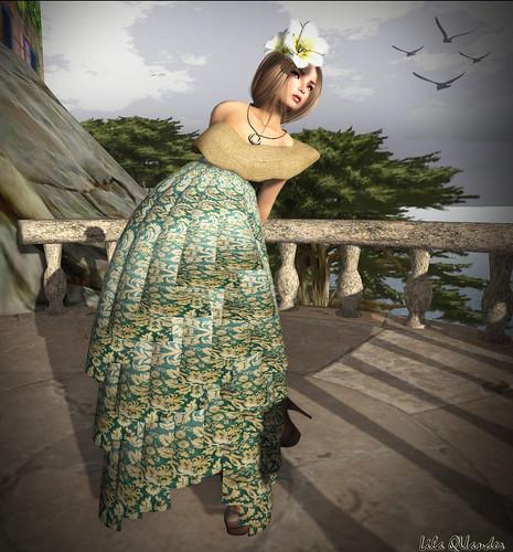 CS - Peqe Culture Gown-Vintage