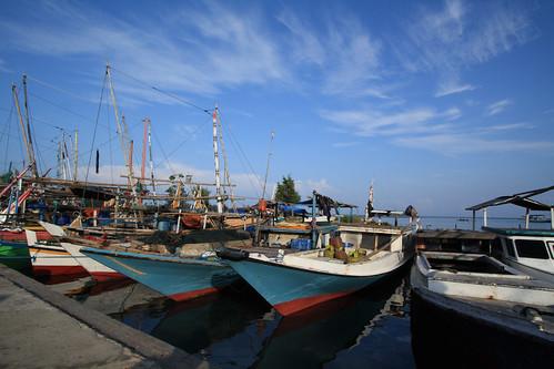 Kapal Perahu di Karimun Jawa