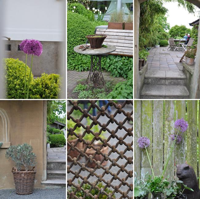 collage Ulla Molins trädgård