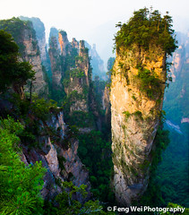 The Gathering of Heavenly Soldiers (Feng Wei Photography) Tags: china travel summer wallpaper mountain color nature beautiful beauty landscape nationalpark amazing scenery rocks colorful asia avatar scenic peak stunning 中国 旅游 majestic hunan 张家界 zhangjiajie 地理 亚洲 100commentgroup zhangjiajienationalforestpark bestcapturesaoi elitegalleryaoi dblringexcellence tplringexcellence artistoftheyearlevel3 artistoftheyearlevel4 planetpandora 神兵聚会 老屋场 artistoftheyearlevel5 aboveandbeyondlevel2 aboveandbeyondlevel3