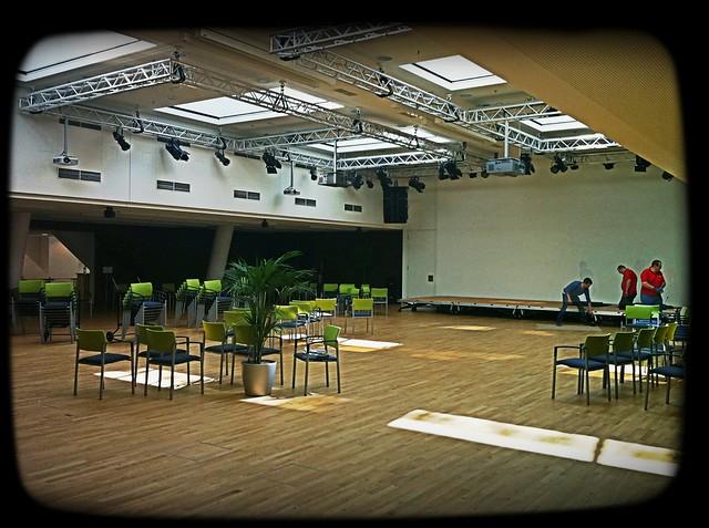 Der große Veranstaltungssaal