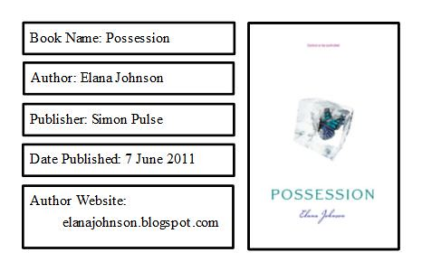 Possession Bookplate