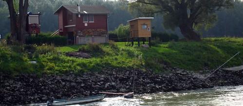 Danube fishing cottage