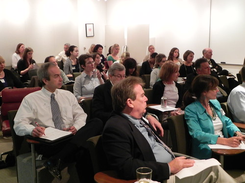 Attendees at West Glen Communications Seminar on the Growing Distribution Options for PSAs