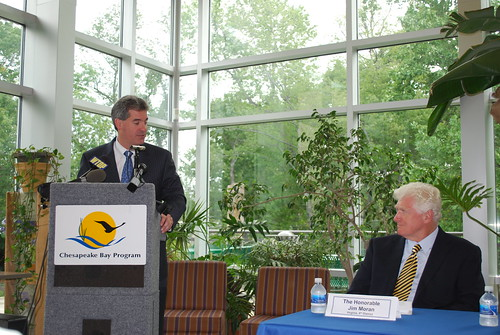 PressEvent (11) - Press event announcing the recipients of the 2010 Chesapeake Bay Innovative Nutrient and Sediment Reduction Grants. The Innovative Nutrient and Sediment Reduction Grants Program is funded by the EPA Chesapeake Bay Program and administered by the National Fish and Wildlife Foundation.