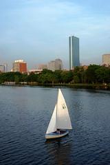 Charles Sailing 51 (Alfrodull) Tags: boston john river bay back interesting charles explore sail 51 hancock explored