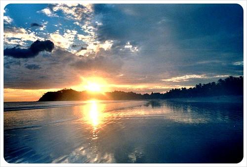 Costa Rica samara beach Sunset