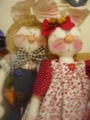 (Prel Artes) Tags: bonecas dolls artesanato pscoa coelhos artes pascoa prel bonecasdepano countrydolls prelartes