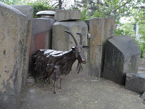 Garbage Eating Goat.