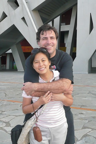Beijing Olympic Stadium - Queenie and Me Outside