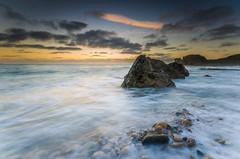 Washing Rocks (russellcram) Tags: ocean water sunrise point nikon rocks waves south north sigma lee sands 1020mm filters grahams shields trow cloudssea d7000