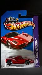 HOT WHEELS ENZO FERRARI 2013 HW SHOWROOM RED DIECAST 1:64 EXOTIC SPORTS CAR (wupplescars) Tags: 2013 diecast enzo exotic ferrari showroom sports wheels