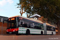 De pruebas. (Tomeso) Tags: tmb solaris urbino 18 electric trolley trolebus bus barcelona catalua spain