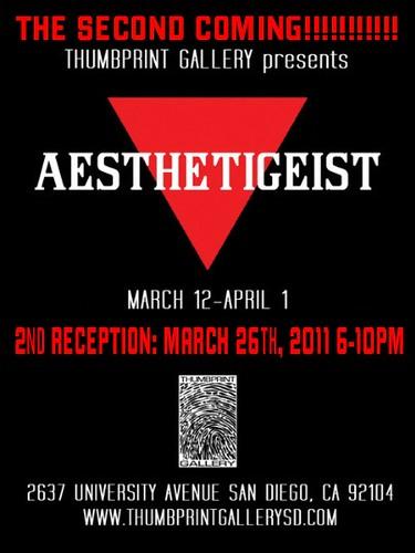 Thumbprint Gallery Presents Aesthetigeist