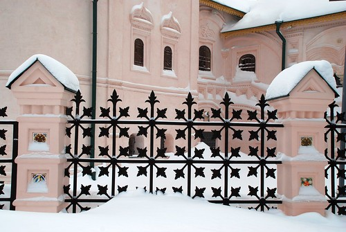 Ограда под снегом ©  akk_rus