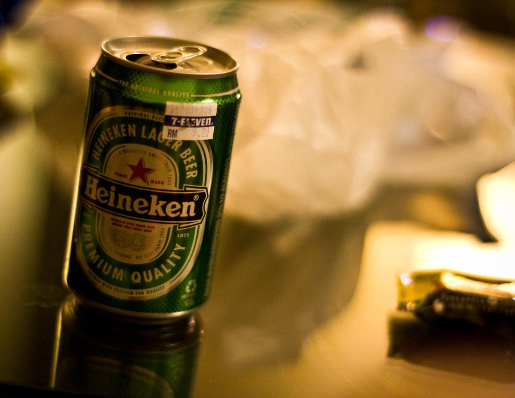 Yes!Heineken!