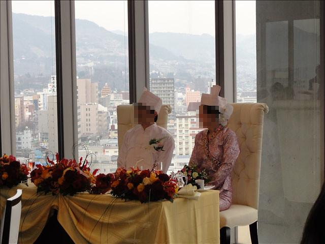 メルパルク長野で従妹の結婚式 その4
