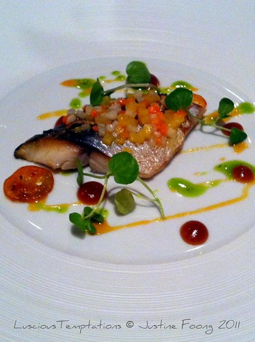 Mackerel - The Grill, The Dorchester