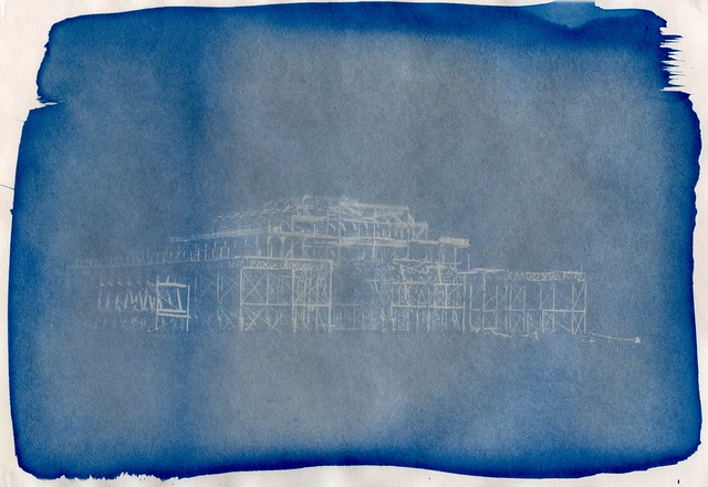 Cyanotype Experiment 2
