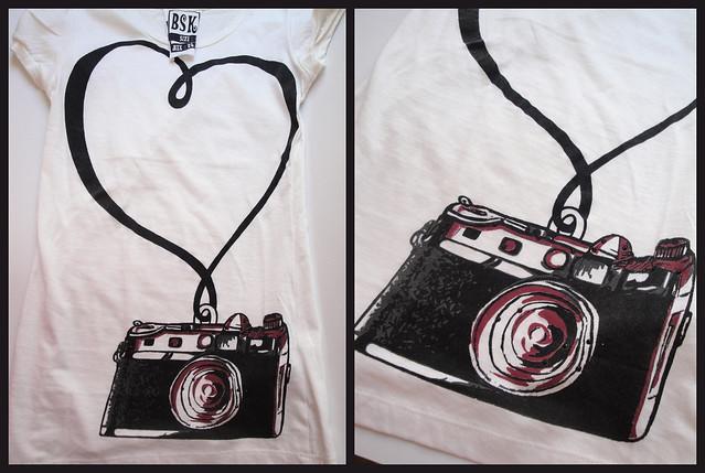 fotoğraf makineli tshirt