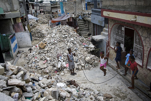 Earthquake Debris Continues to Clog Port-au-Prince Streets