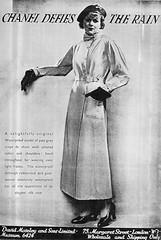 129 (Mae'r Cwfl) Tags: raincoat chanel rubberised