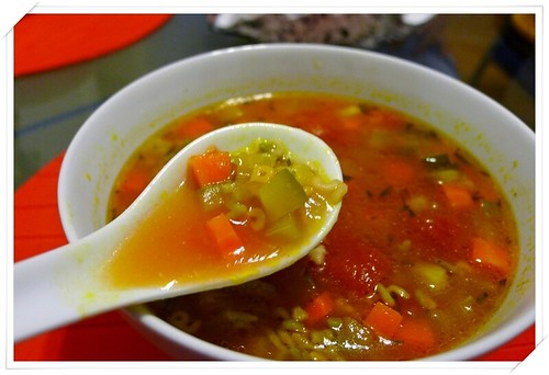 Minestrone with Alphabets Pasta