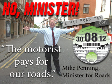 Roads minister says motorists pay for roads