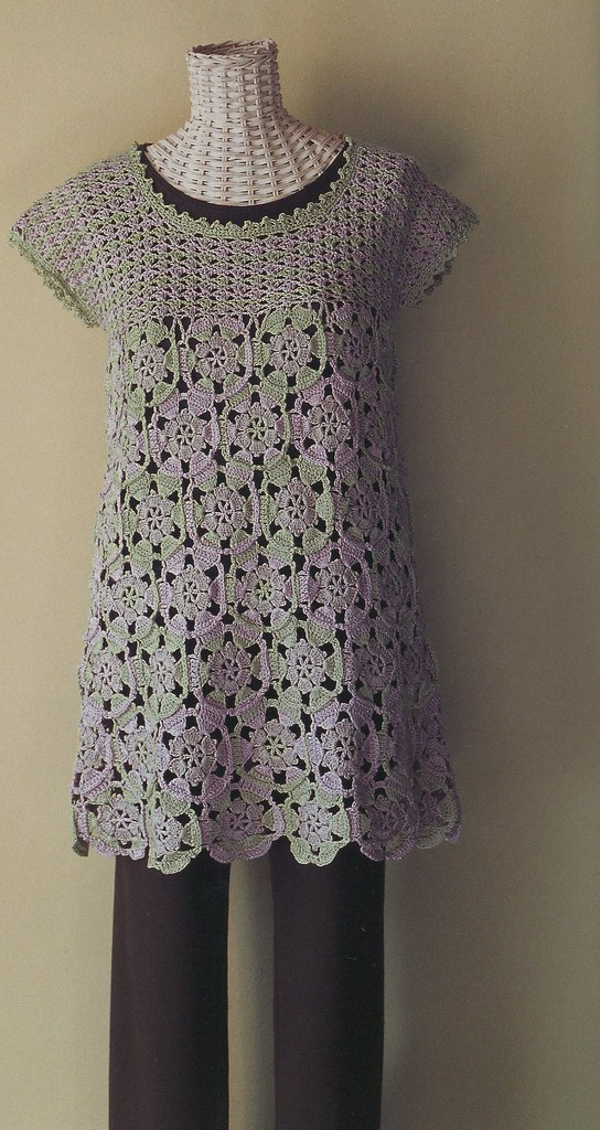 Great News, There is a Pattern for This Gorgeous Crochet Tunic ...