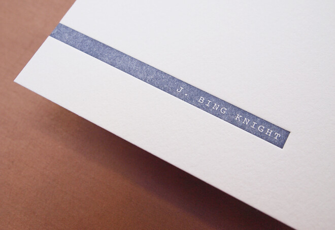 Bing Knight | Stationery 02