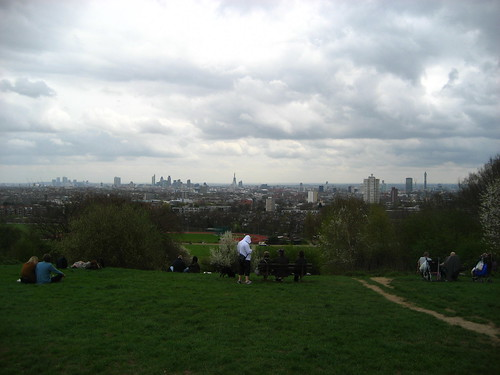 Parliament Hill on Hampstead Heath
