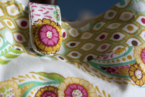 Buttercup bag detail