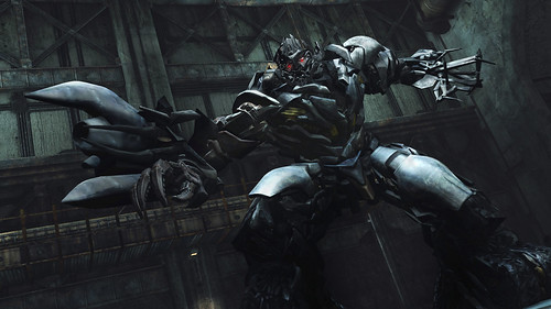 Transformers DOTM - Megatron corridors